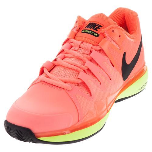 Women's Zoom Vapor 9.5 Tour Tennis Shoes Hyper Orange And Black