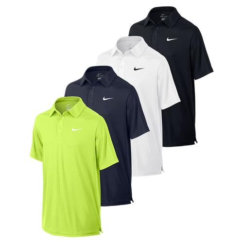 Boys ` Team Court Tennis Polo