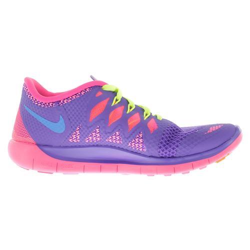 super popular 5756e e0dad NIKE Girls` Free 5.0 Shoes Hyper Grape and Hyper Pink   644446 ...