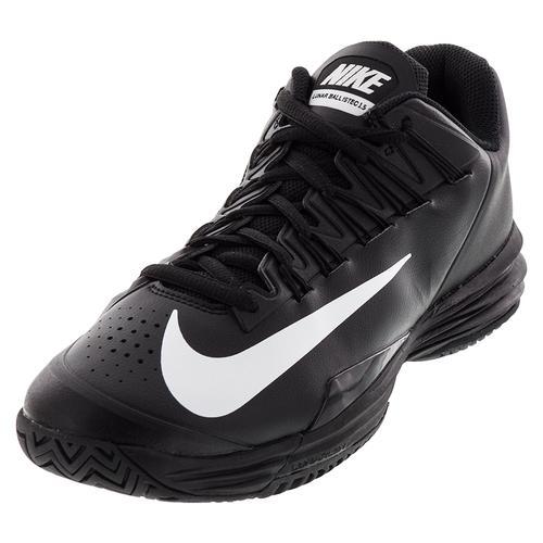 Men's Lunar Ballistec 1.5 Tennis Shoes Black And White