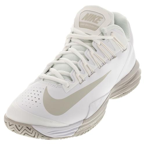 587e5ce73e19 NIKE NIKE Women s Lunar Ballistec 1.5 Tennis Shoes White And Summit White