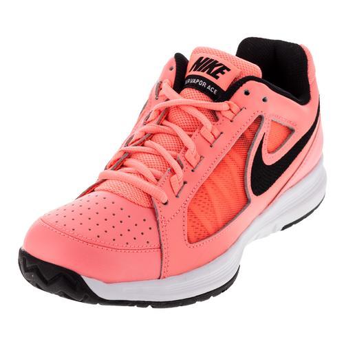 Women's Air Vapor Ace Tennis Shoes Lava Glow And Black
