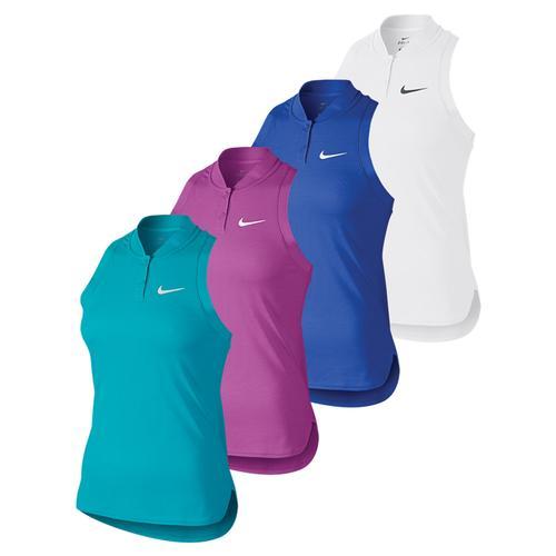 Women's Premier Advantage Sleeveless Tennis Polo