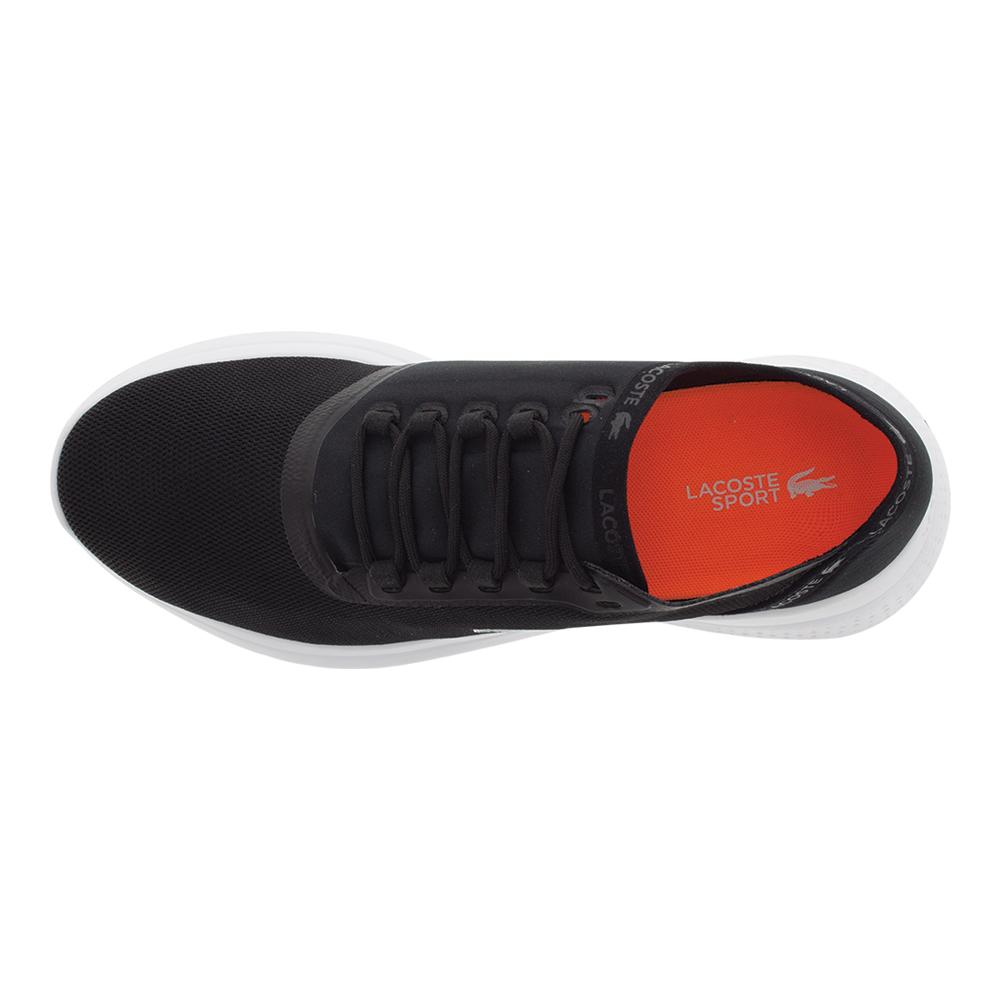 c62049a17b8a9 LACOSTE LACOSTE Men s Lt Fit 118 Tennis Shoes Black And Dark Gray. Zoom.  Hover to zoom click to enlarge. 360 View