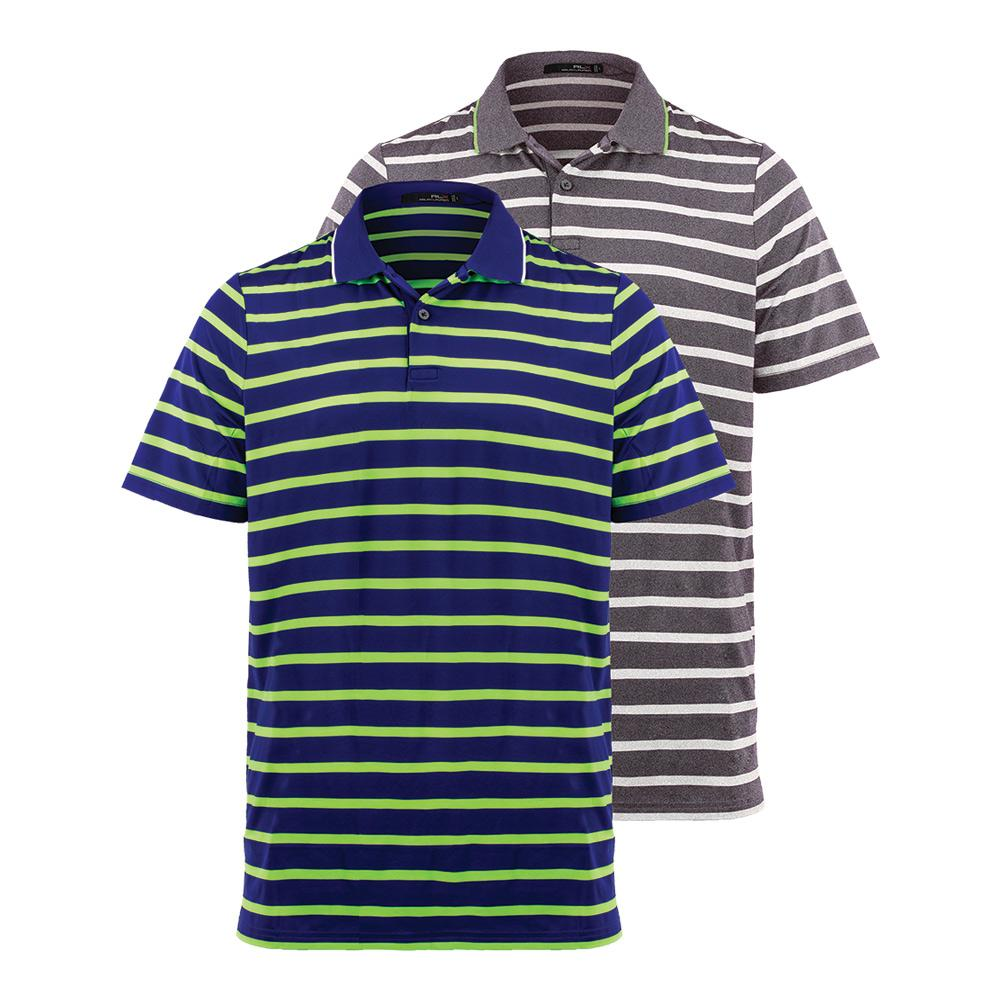 Men's Striped Airflow Jersey Top