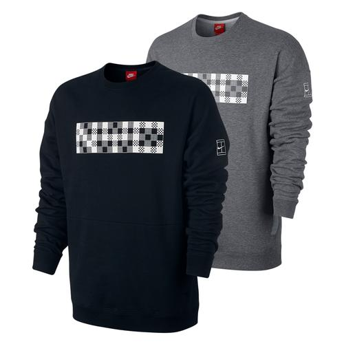 Men's Court Long Sleeve Tennis Crew