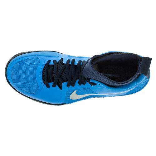 info for 41085 0b7a1 NIKE Women`s Flare Tennis Shoes Photo Blue and Obsidian   810964 ...