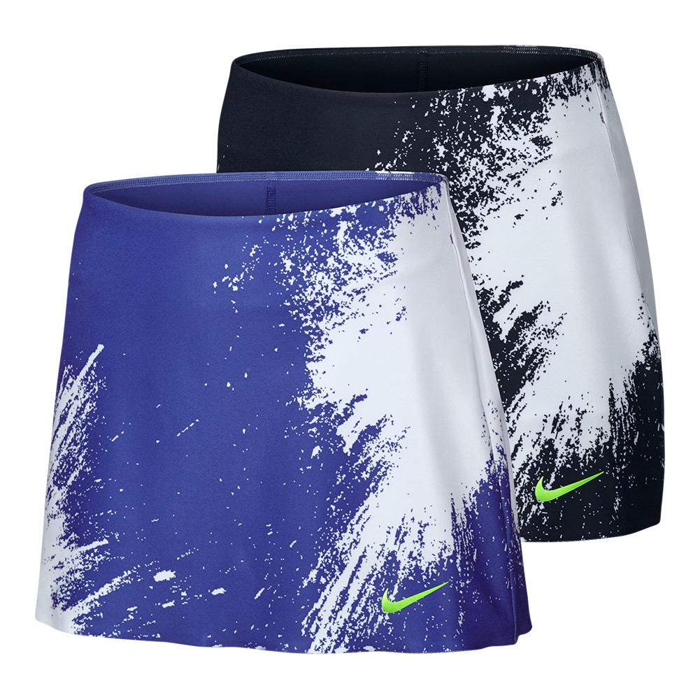 Women's Power Spin Tennis Long Skort