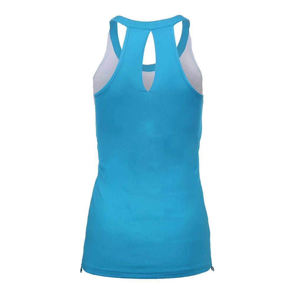 1ca75585c79bb Bolle Women's Indigo Splash Tennis Tank Ocean