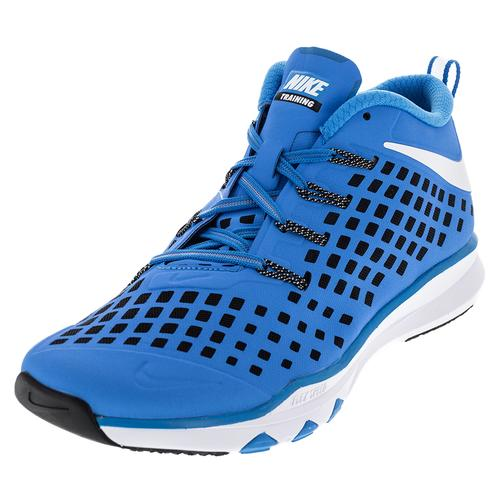 Men's Train Quick Shoes Blue Glow And White
