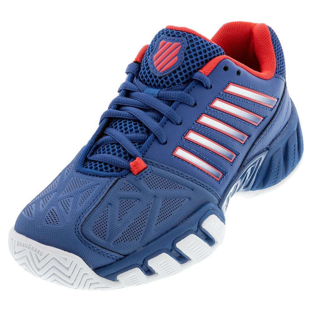 Juniors ` Bigshot Light 3 Tennis Shoes Dark Blue And Bittersweet