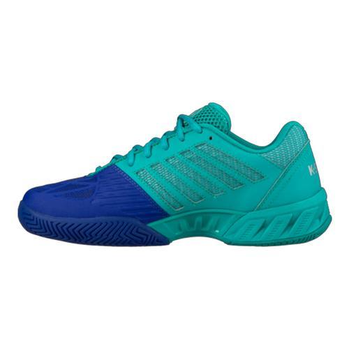 k swiss junior s bigshot light 3 tennis shoes pigment blue