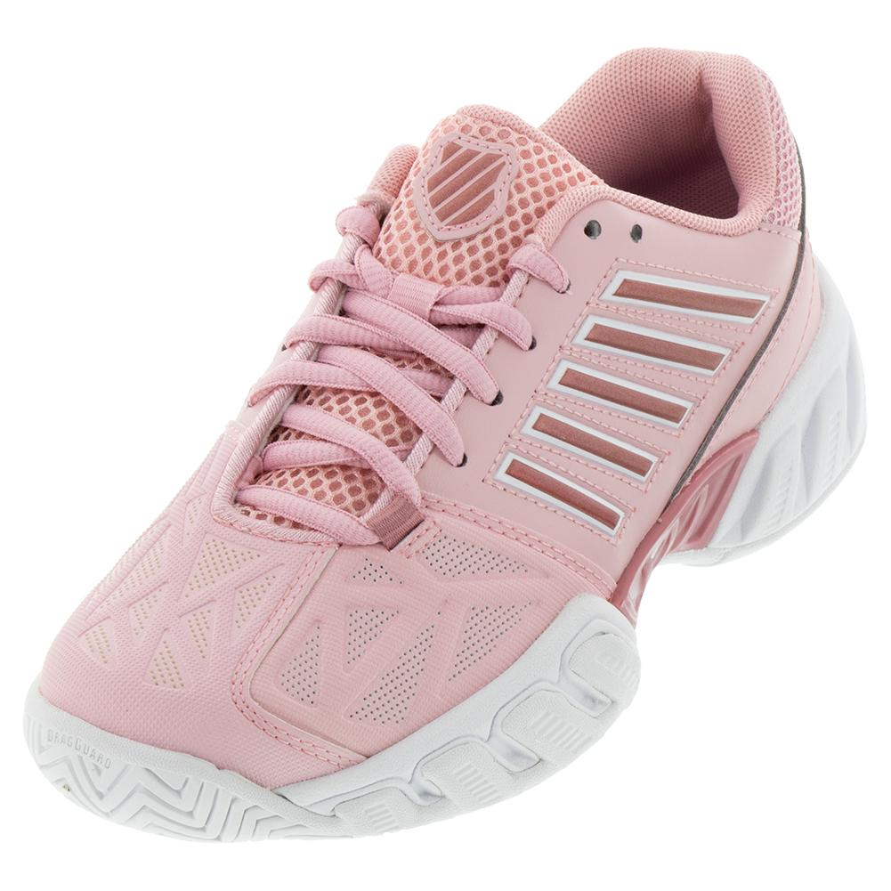 Juniors ` Bigshot Light 3 Tennis Shoes Coral Blush And White