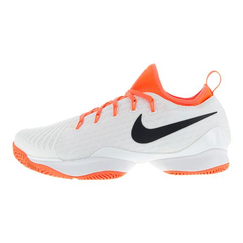 358538f2a9071 Women s Air Zoom Ultra React Tennis Shoes White And Hyper Orange. Zoom.  Hover to zoom click to enlarge. Description ...