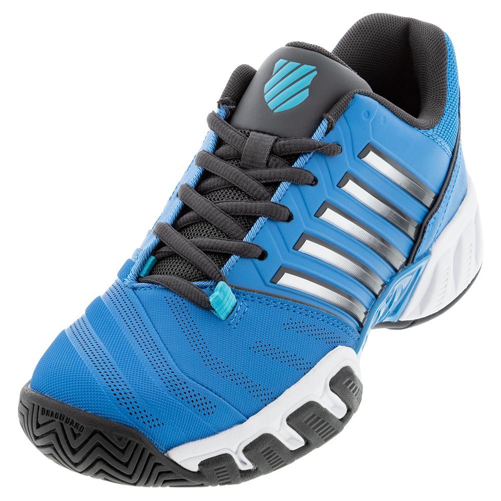 Juniors ` Bigshot Light 4 Tennis Shoes Swedish Blue And Dark Shadow
