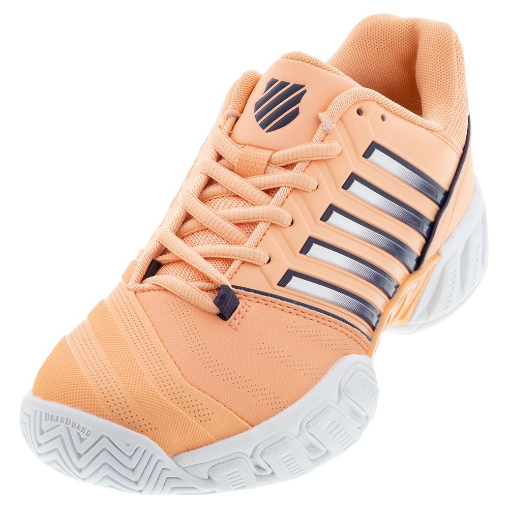 Juniors ` Bigshot Light 4 Tennis Shoes Peach Nectar And Graystone