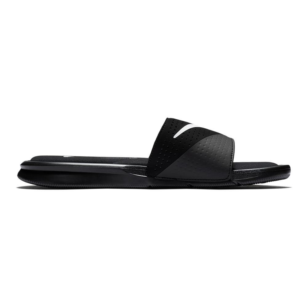 4ed4521a53f2 Mens Ultra Comfort Slide Sandals Black. Zoom. Hover to zoom click to  enlarge. 360 View