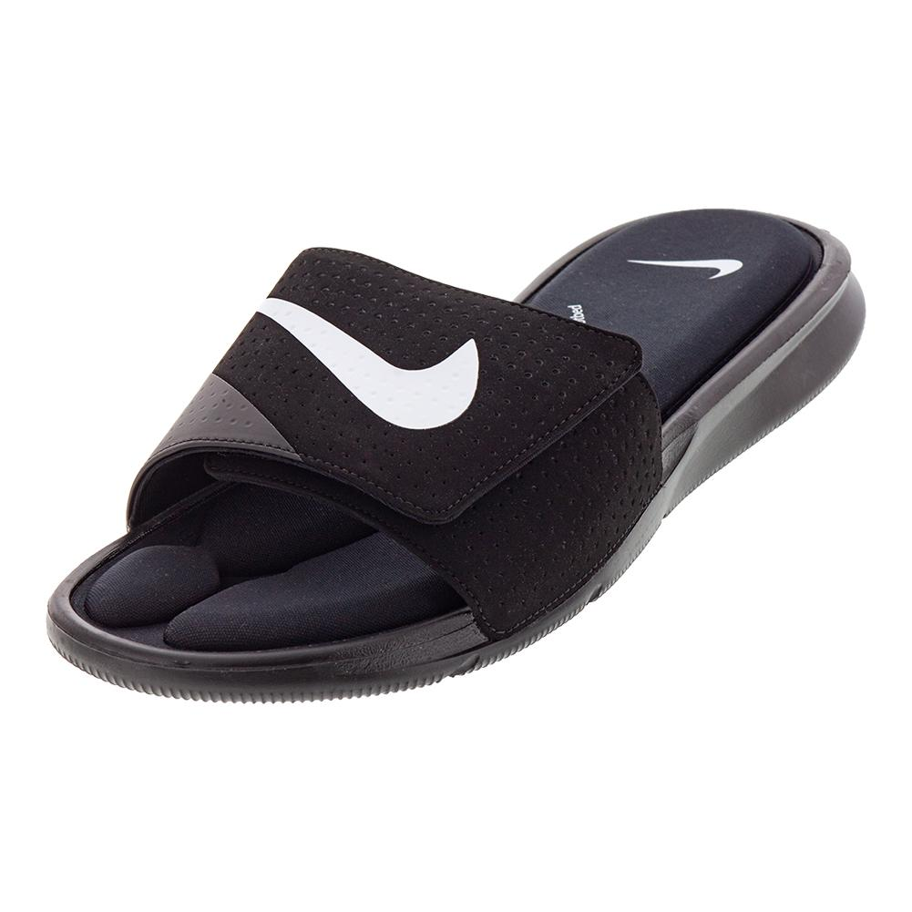 official photos 3c9ca 81ee7 NIKE NIKE Mens Ultra Comfort Slide Sandals Black. Zoom