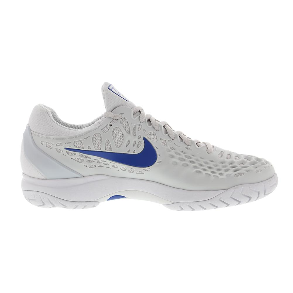 3eae4a2878b7 Men s Zoom Cage 3 Tennis Shoes Vast Gray And Indigo Force. Zoom. Hover to  zoom click to enlarge. 360 View
