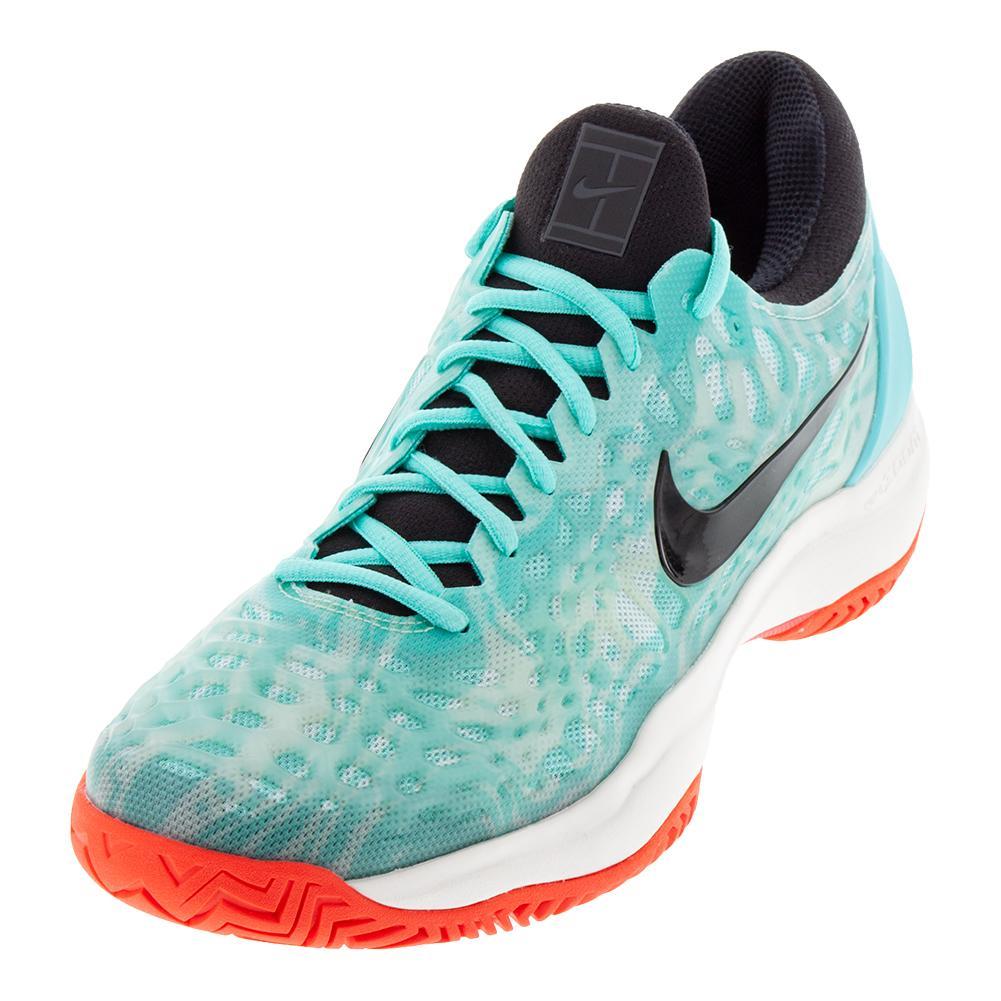 9e165cf3c48de Men s Zoom Cage 3 Tennis Shoes Aurora Green And Black