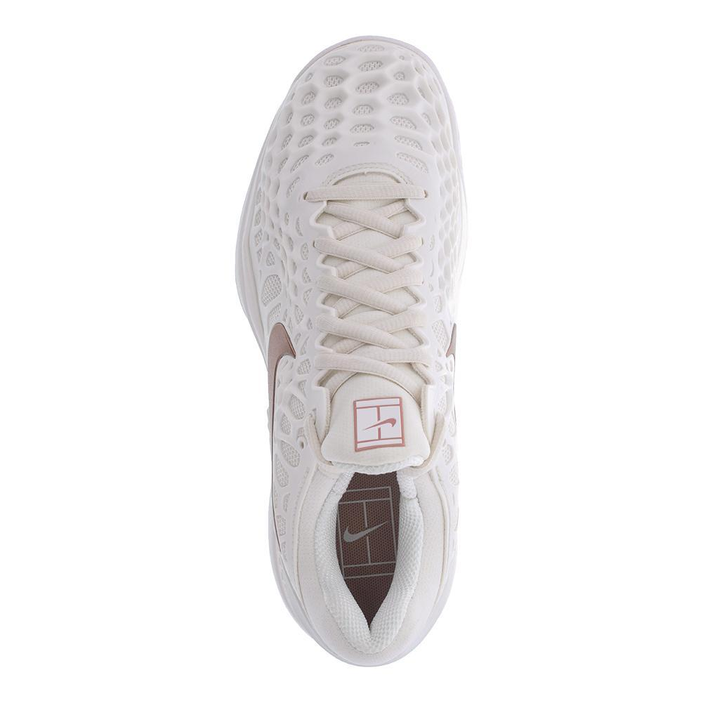 129afb4e794f Women s Zoom Cage 3 Clay Tennis Shoes Phantom And Metallic Rose Gold. Hover  to zoom click to enlarge. Description ...
