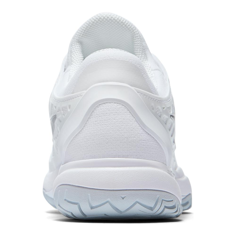 half off 47fb8 fdf2d Women s Zoom Cage 3 Hc Tennis Shoes White And Metallic Silver. Zoom. Hover  to zoom click to enlarge. 360 View