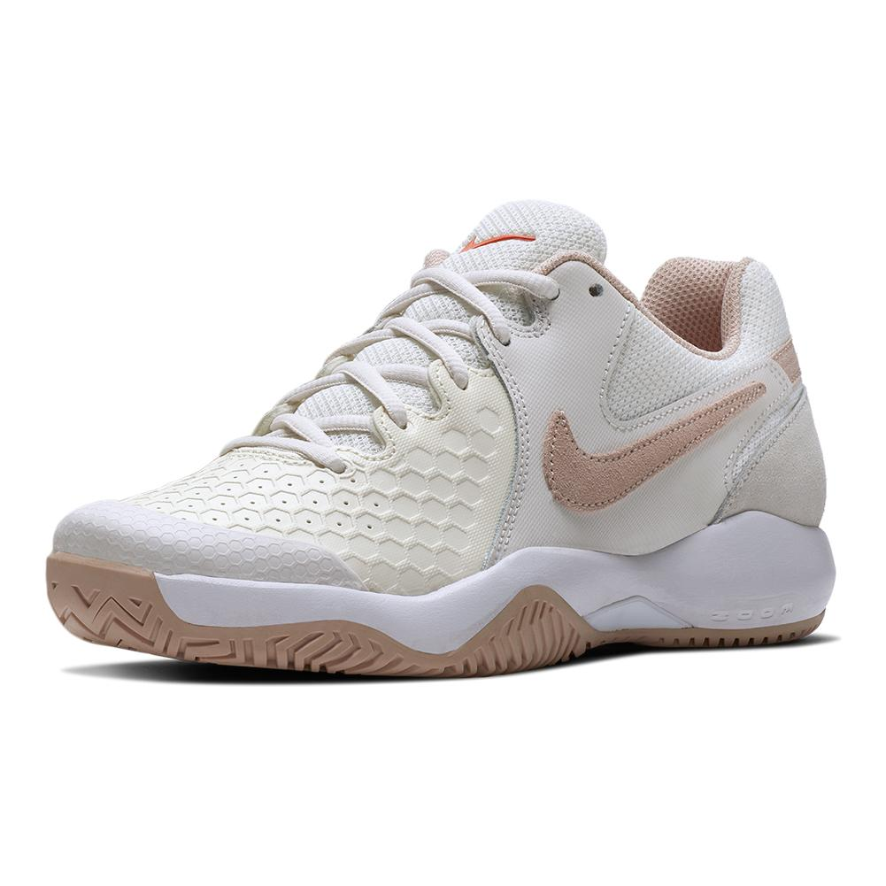 2f93bd71cb720 Nike Women s Air Zoom Resistance Tennis Shoes Phantom and Particle Beige