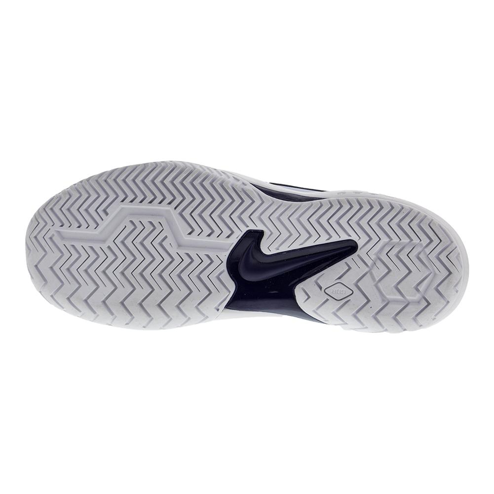 fde05b1e718a NIKE NIKE Women s Air Zoom Resistance Tennis Shoes Hydrogen Blue And Metallic  Dark Gray. Zoom. Hover to zoom click to enlarge. 360 View