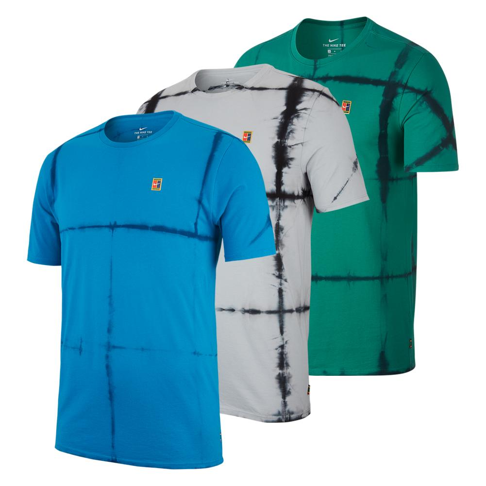 Men's Court Tie Dye Tennis Crew Tee