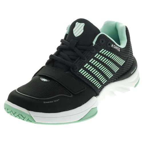 Women's X Court Tennis Shoes Black And Cabbage