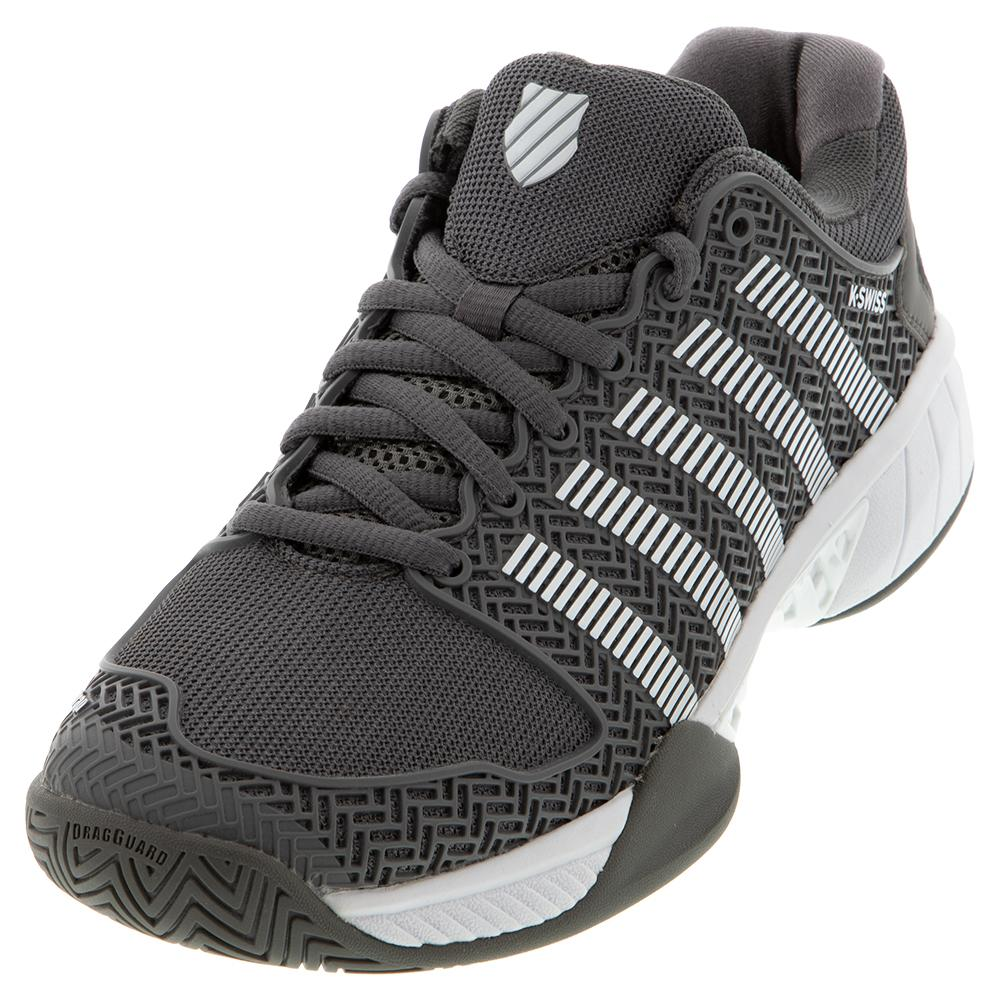 Women's Hypercourt Express Limited Edition Tennis Shoes Charcoal And White