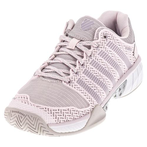 Women's Hypercourt Express Tennis Shoes Mauve Chalk And Wind Chime