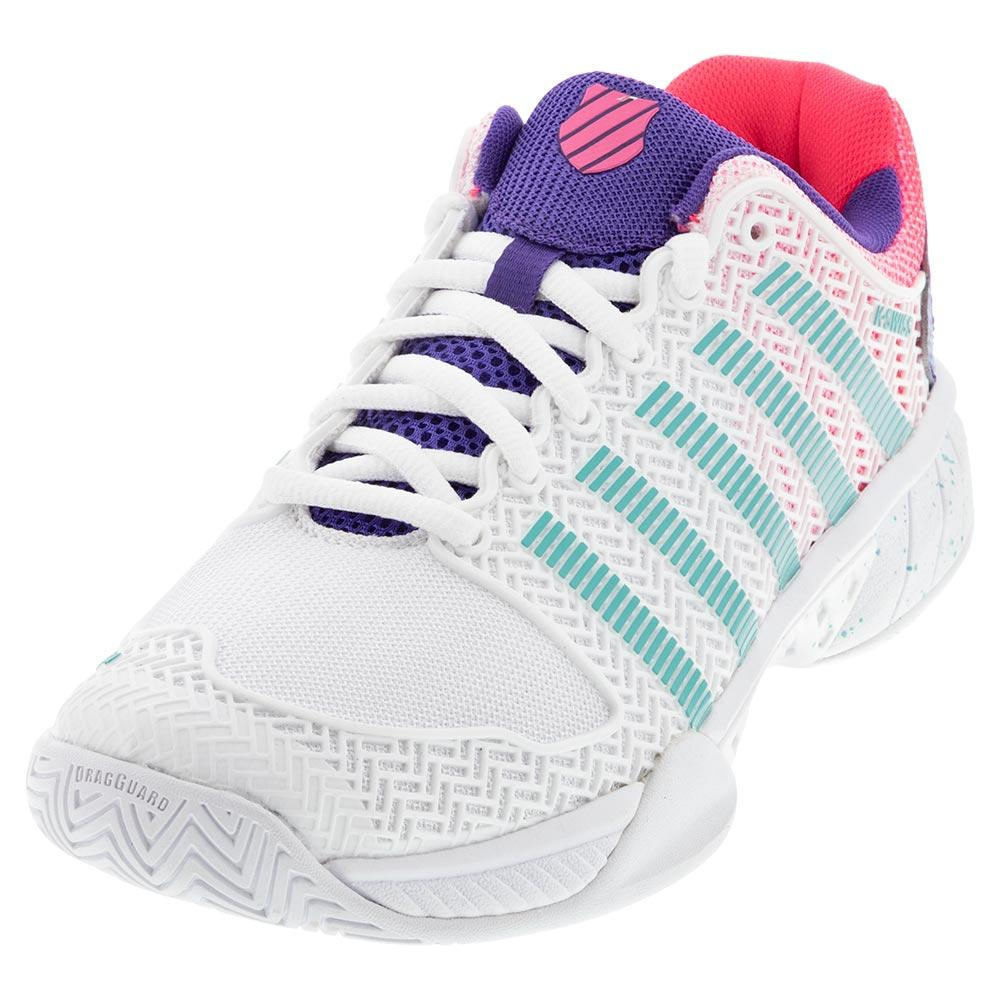 Women's Hypercourt Express 2 Le Tennis Shoes White And Liberty