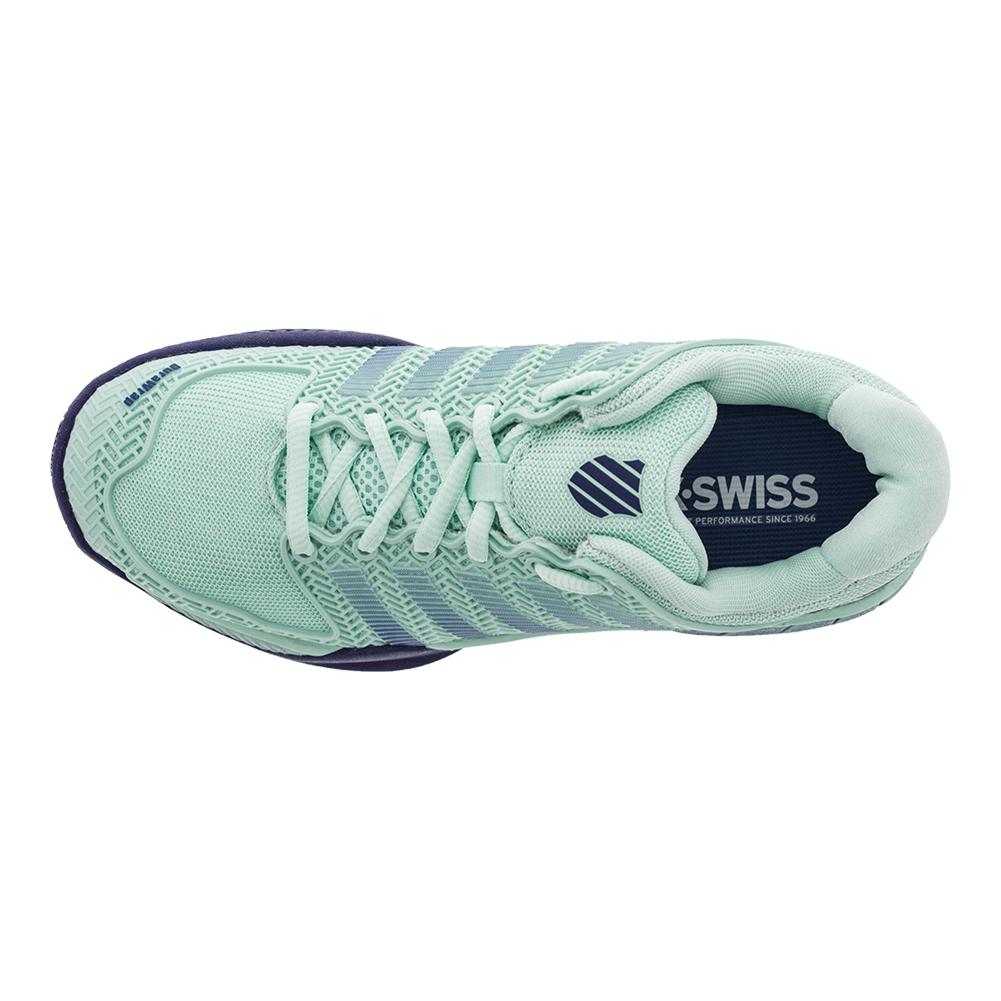 k swiss s hypercourt 2 0 tennis shoes in green and
