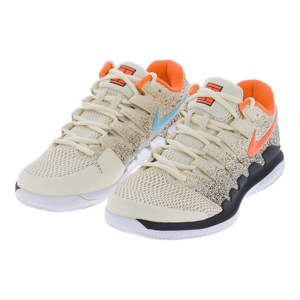 Nike Men s Air Zoom Vapor 10 Tennis Shoes (Light Cream Bleached Aqua) 42ad6fcac6f16