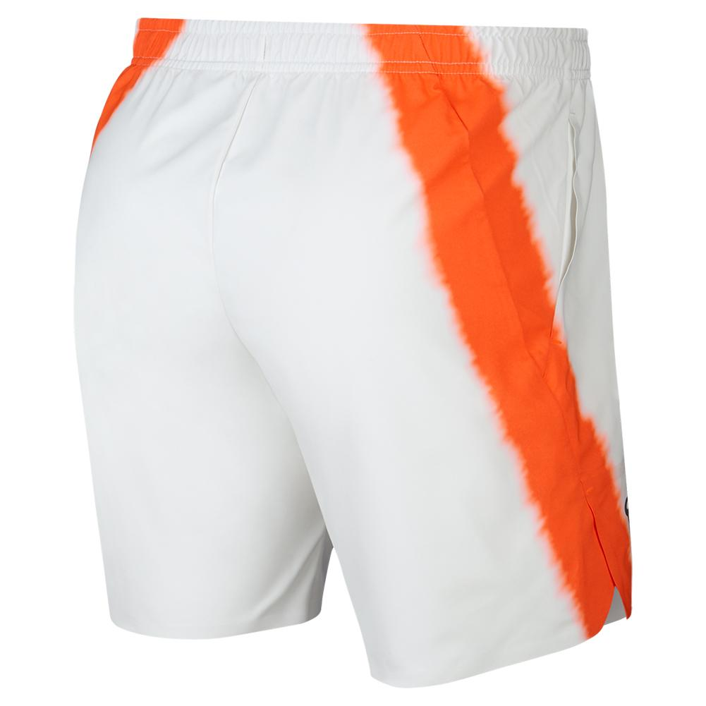 29b044acf21e Men`s Rafa Court Flex Ace 7 Inch New York Tennis Short 100 WHITE HYP CRIMSN