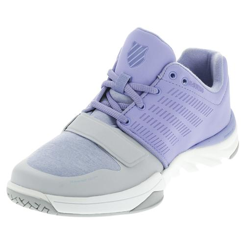 Women's X Court Athleisure Tennis Shoes Deep Periwinkle And Gray Dawn