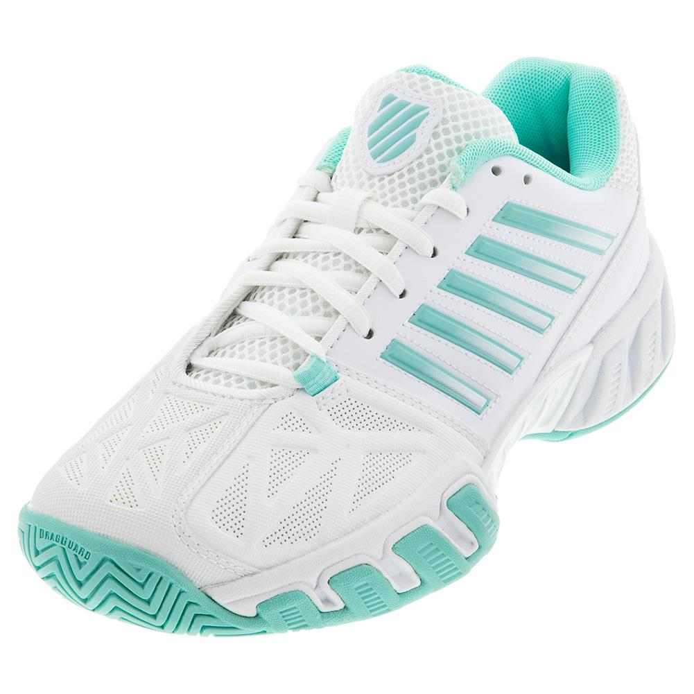 Women's Bigshot Light 3 Tennis Shoes White And Aruba Blue