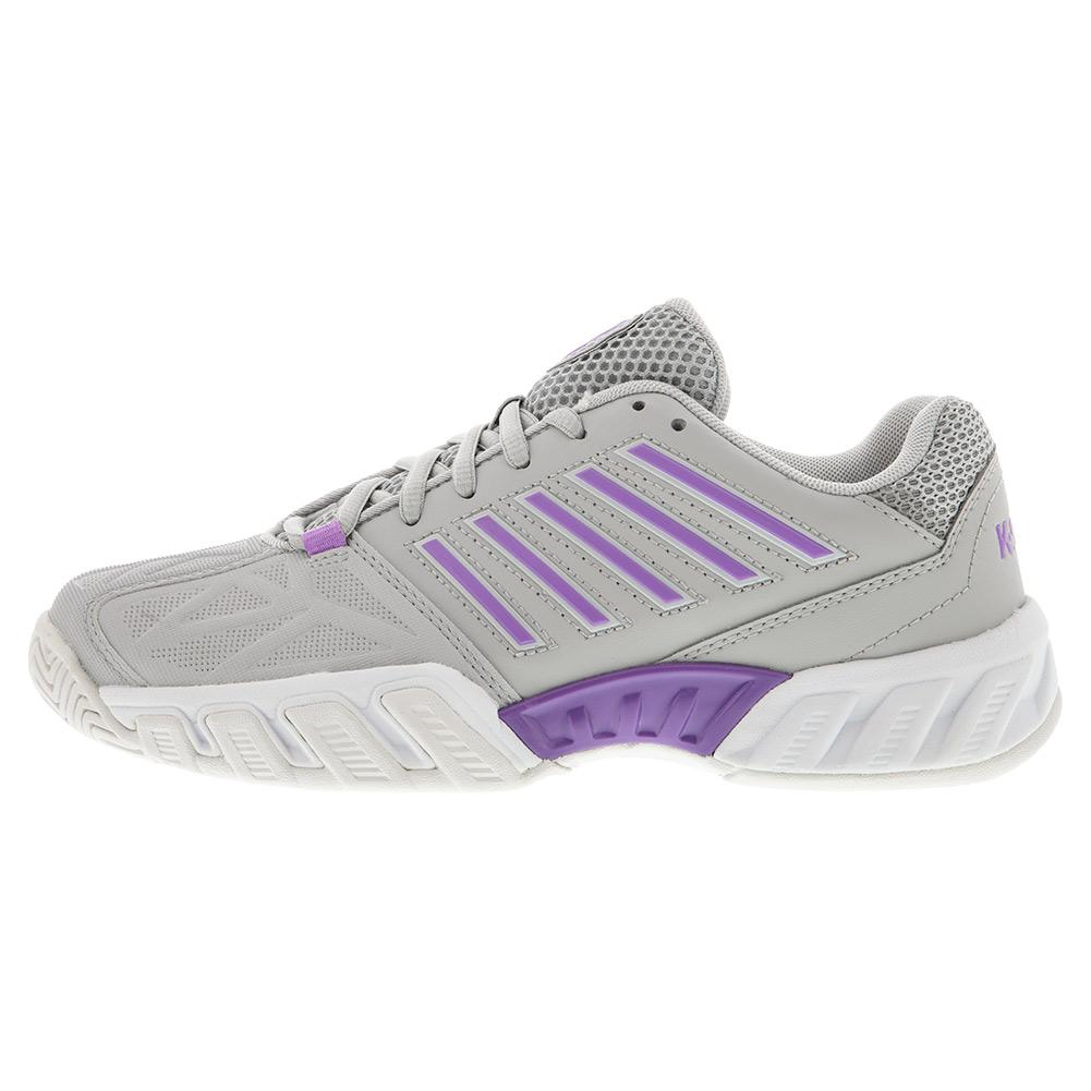 Size 8 K-Swiss Bigshot Light 3 Womens Tennis Shoe Pastel Blue//Black//White