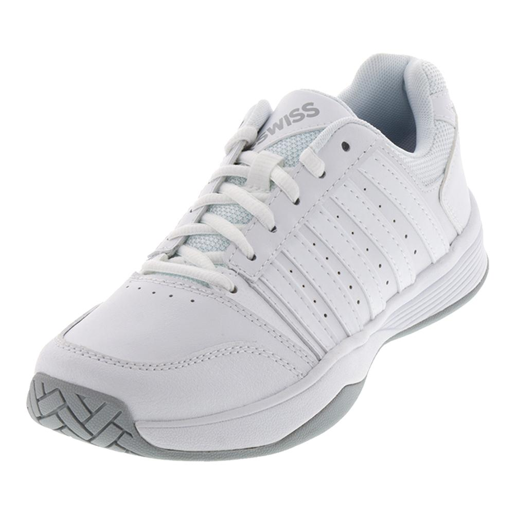 Women's Court Smash Tennis Shoes White And Highrise