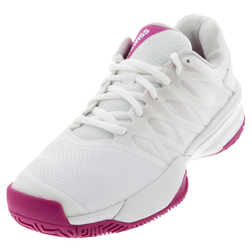 Women's Ultrashot 2 Tennis Shoes White And Cactus Flower