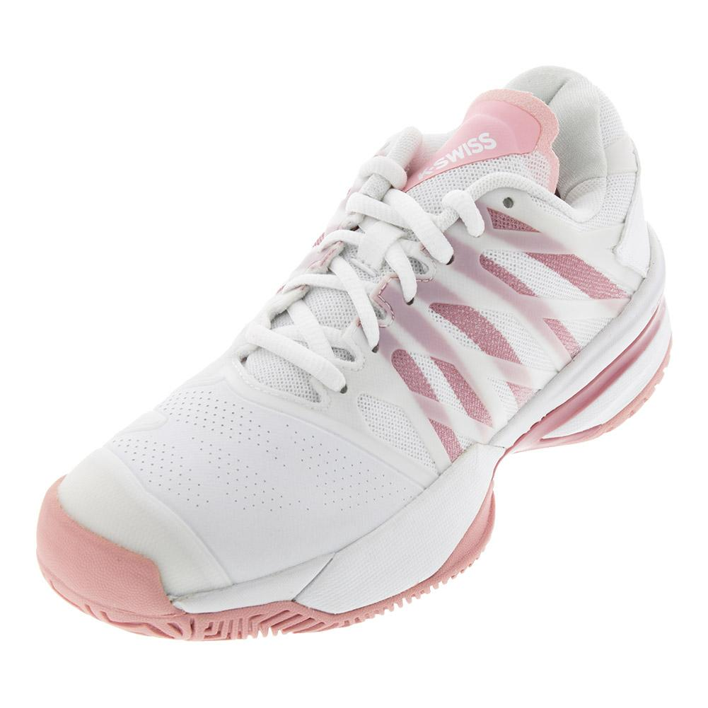 Women's Ultrashot 2 Tennis Shoes White And Coral Blush