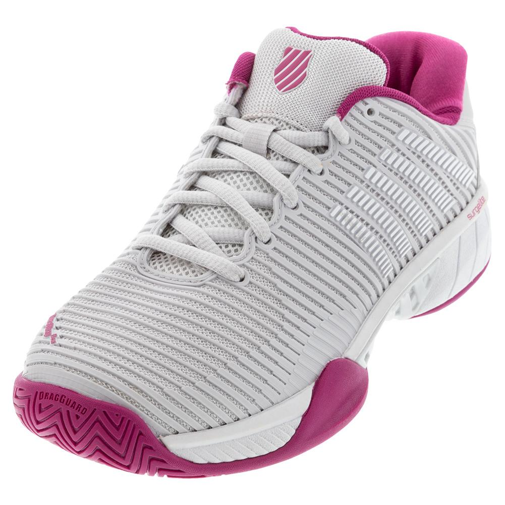 Women's Hypercourt Express 2 Tennis Shoes Nimbus Cloud And Cactus Flower