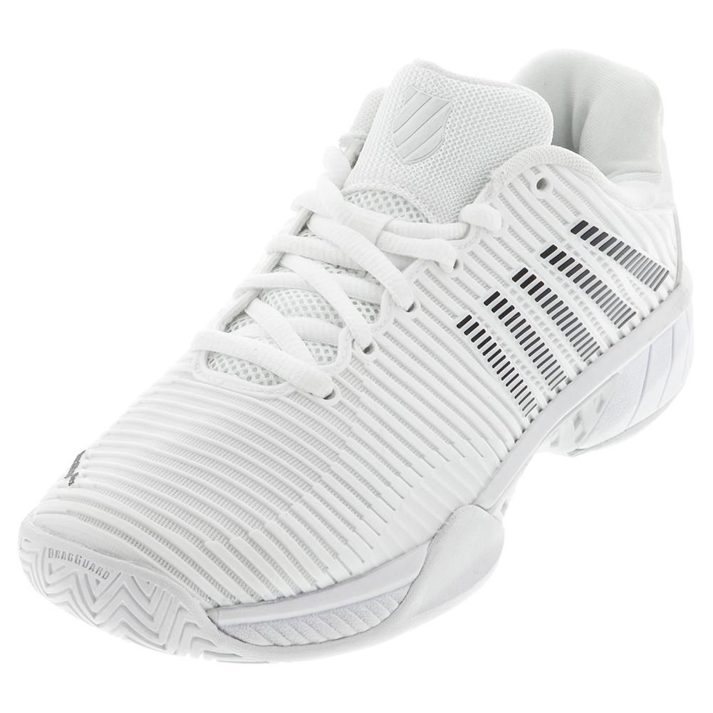 Women's Hypercourt Express 2 Tennis Shoes White And Black