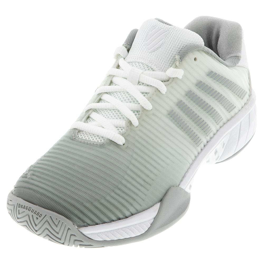 Women's Hypercourt Express 2 Tennis Shoes White And Highrise