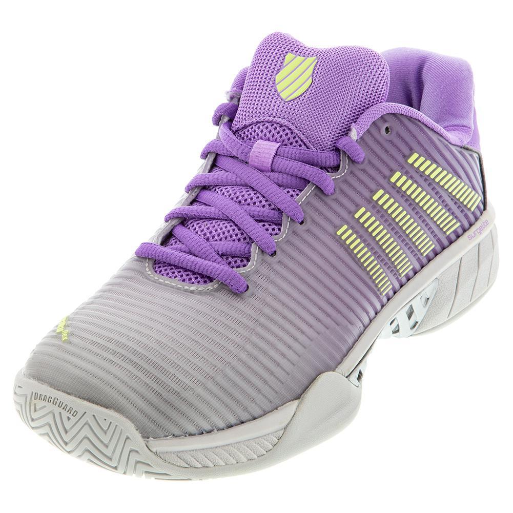 Women's Hypercourt Express 2 Tennis Shoes Vapor Blue And Fairy Wren