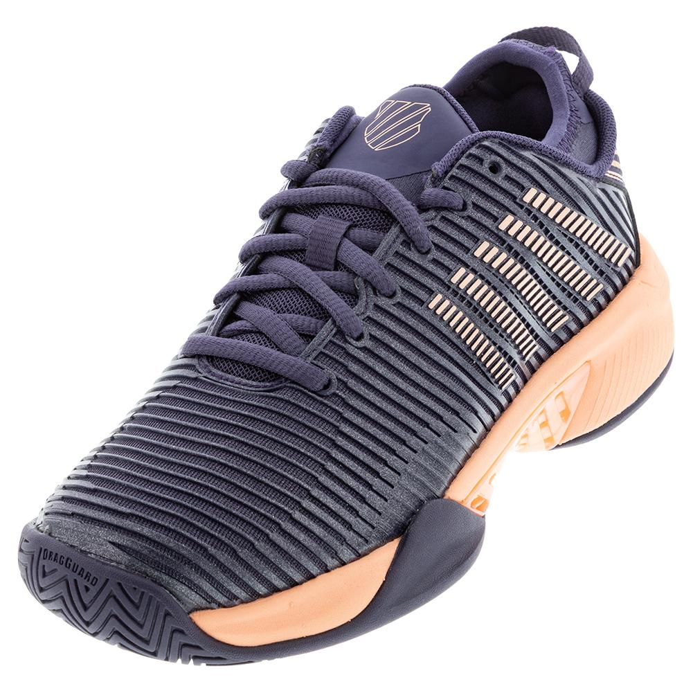 Women's Hypercourt Supreme Tennis Shoes Graystone And Peach Nectar
