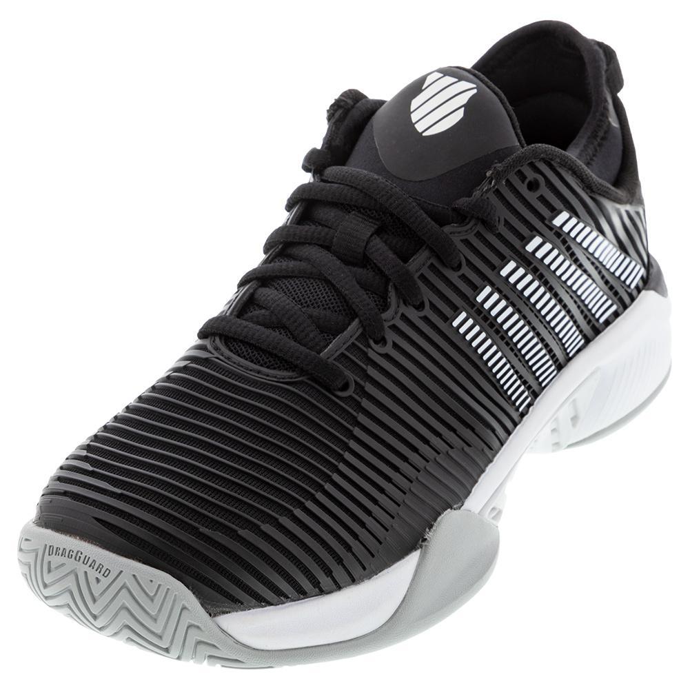 Women's Hypercourt Supreme Tennis Shoes Black And White
