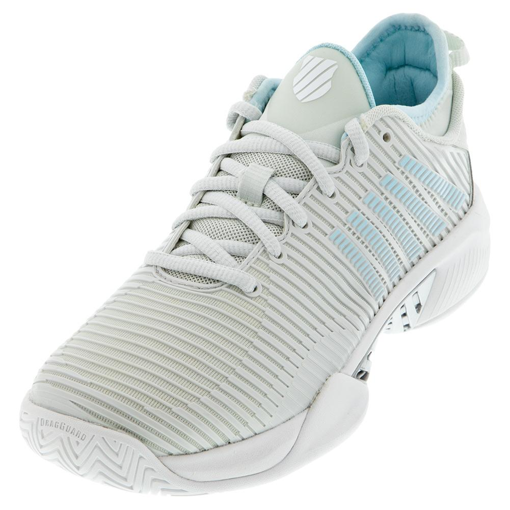 Women's Hypercourt Supreme Tennis Shoes Barely Blue And White