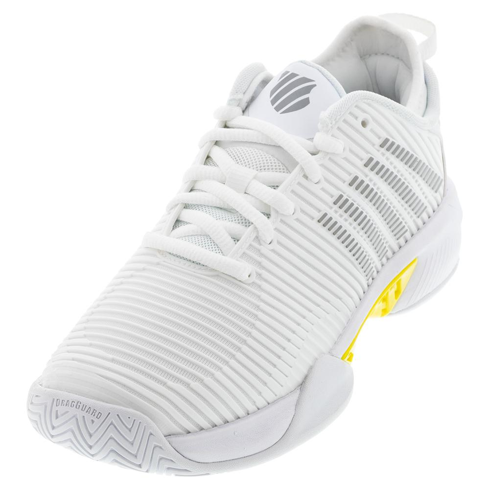 Women's Hypercourt Supreme Tennis Shoes White And Buttercup